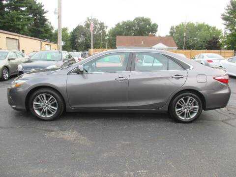 2016 Toyota Camry for sale at Home Street Auto Sales in Mishawaka IN