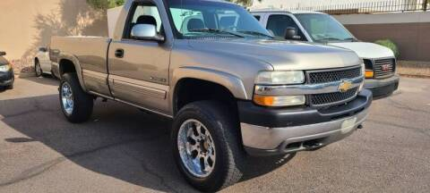 2001 Chevrolet Silverado 2500HD for sale at Arizona Auto Resource in Tempe AZ