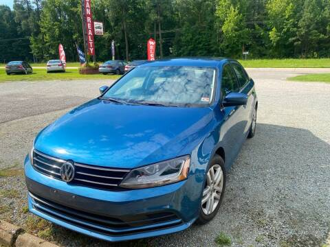 2017 Volkswagen Jetta for sale at Premier Auto Solutions & Sales in Quinton VA