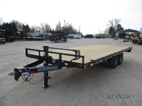 2021 Load Trail Equipment Deckover DK0220072 for sale at Rondo Truck & Trailer in Sycamore IL