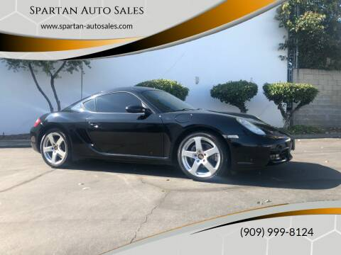 2008 Porsche Cayman for sale at Spartan Auto Sales in Upland CA