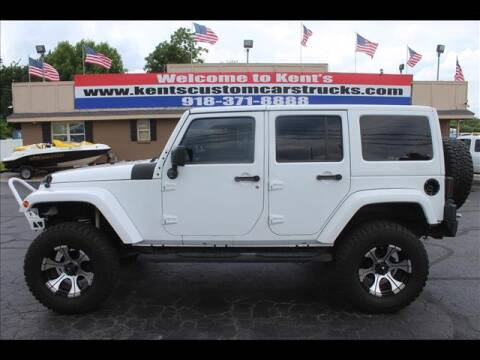 2012 Jeep Wrangler Unlimited for sale at Kents Custom Cars and Trucks in Collinsville OK