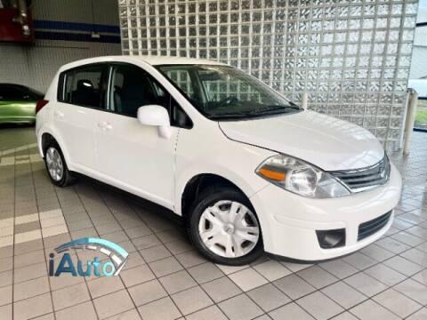 2012 Nissan Versa for sale at iAuto in Cincinnati OH