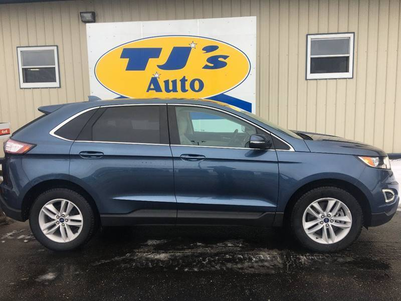 2018 Ford Edge for sale at TJ's Auto in Wisconsin Rapids WI