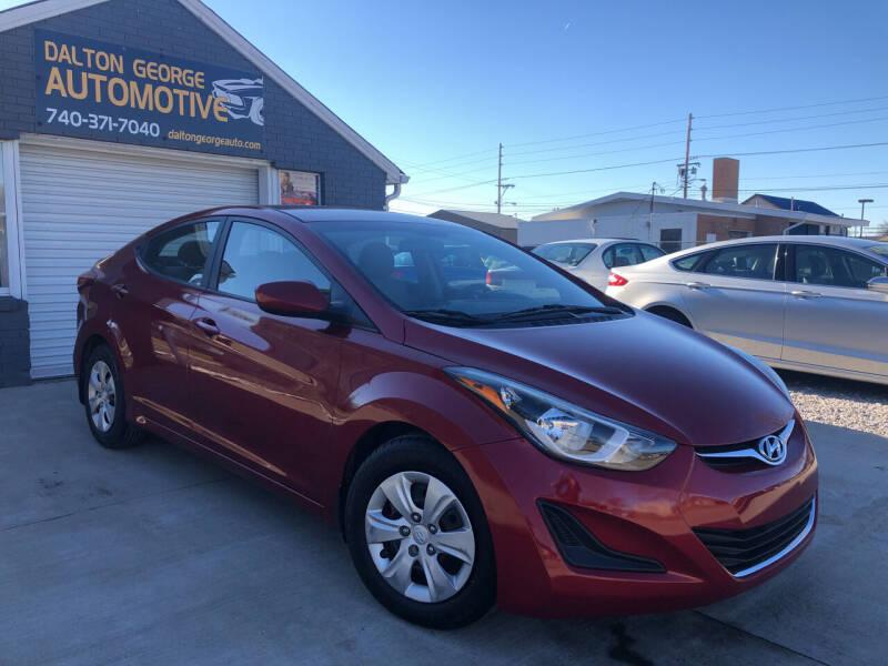 2016 Hyundai Elantra for sale at Dalton George Automotive in Marietta OH