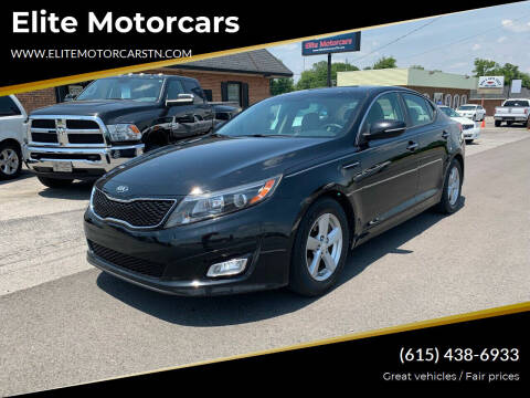2014 Kia Optima for sale at Elite Motorcars in Smyrna TN