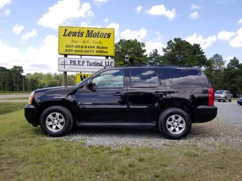 2007 GMC Yukon for sale at Lewis Motors LLC in Deridder LA