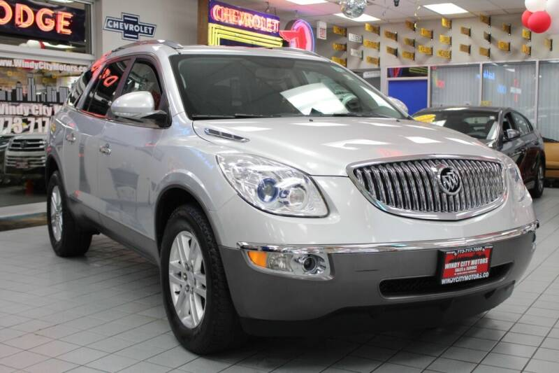2012 Buick Enclave for sale at Windy City Motors in Chicago IL
