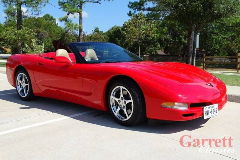 2000 Chevrolet Corvette for sale at Garrett Classics in Lewisville TX