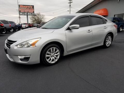 2013 Nissan Altima for sale at Moores Auto Sales in Greeneville TN