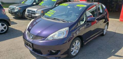 2010 Honda Fit for sale at TC Auto Repair and Sales Inc in Abington MA