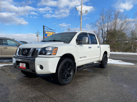 2008 Nissan Titan for sale at Dubes Auto Sales in Lewiston ME