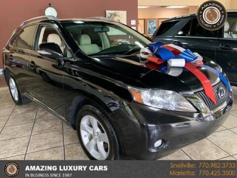2012 Lexus RX 350 for sale at Amazing Luxury Cars in Snellville GA