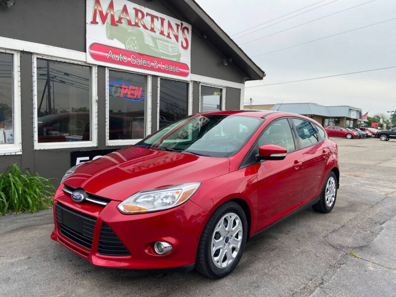 2012 Ford Focus for sale at Martins Auto Sales in Shelbyville KY