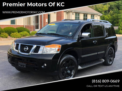 2010 Nissan Armada for sale at Premier Motors of KC in Kansas City MO