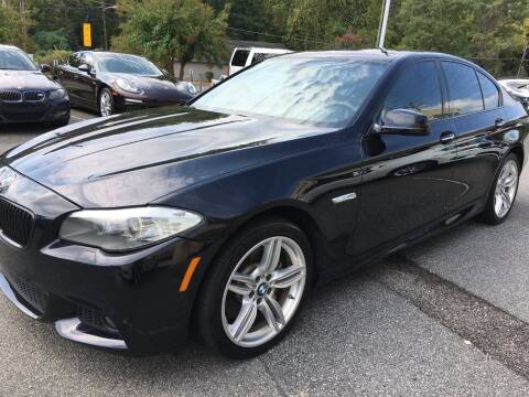 2012 BMW 5 Series for sale at Highlands Luxury Cars, Inc. in Marietta GA