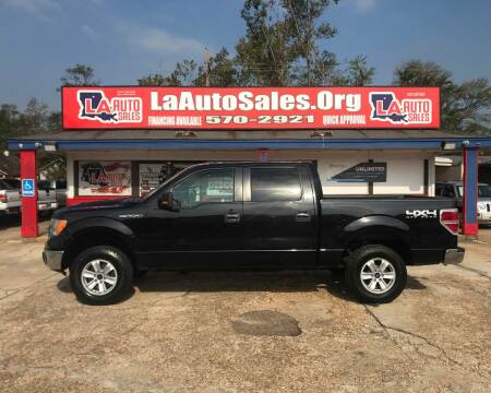 2011 Ford F-150 for sale at LA Auto Sales in Monroe LA