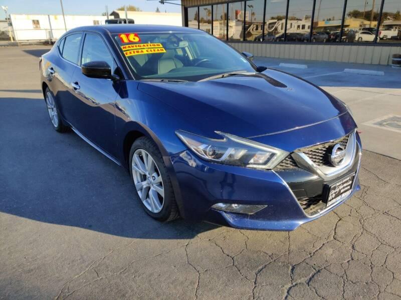 2016 Nissan Maxima for sale at California Motors in Lodi CA