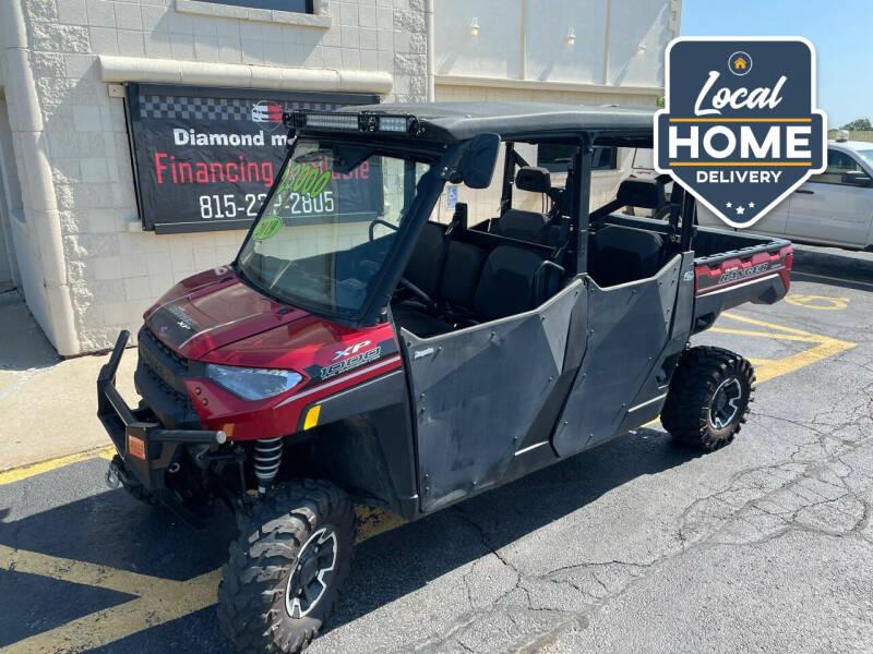 2019 Polaris Ranger Xp 1000 for sale at Diamond Motors in Pecatonica IL