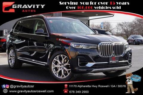 2020 BMW X7 for sale at Gravity Autos Roswell in Roswell GA