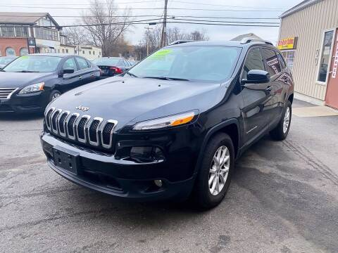 2016 Jeep Cherokee for sale at Dijie Auto Sale and Service Co. in Johnston RI