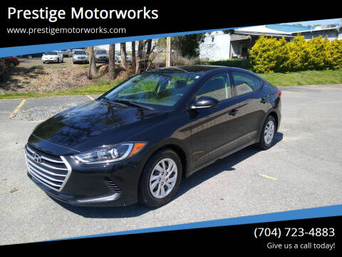 2017 Hyundai Elantra for sale at Prestige Motorworks in Concord NC