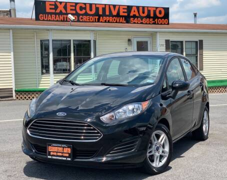 2017 Ford Fiesta for sale at Executive Auto in Winchester VA