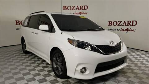 2014 Toyota Sienna for sale at BOZARD FORD in Saint Augustine FL