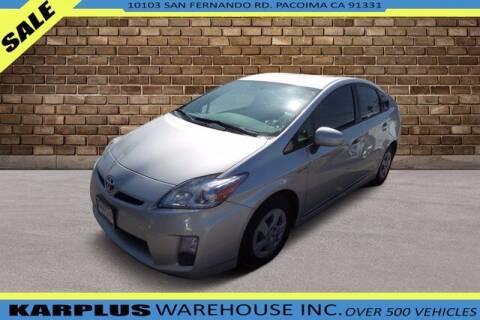 2011 Toyota Prius for sale at Karplus Warehouse in Pacoima CA
