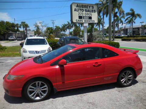 2008 Honda Civic for sale at Aubrey's Auto Sales in Delray Beach FL