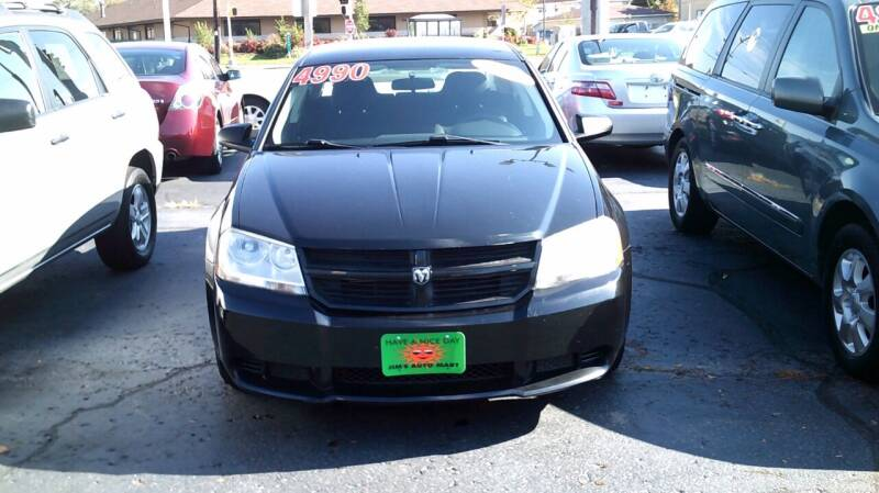 2010 Dodge Avenger for sale at JIMS AUTO MART INC in Milwaukee WI