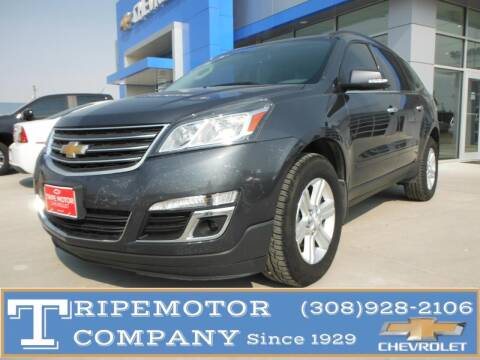 2013 Chevrolet Traverse for sale at Tripe Motor Company in Alma NE