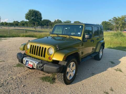 2008 Jeep Wrangler Unlimited for sale at LA PULGA DE AUTOS in Dallas TX