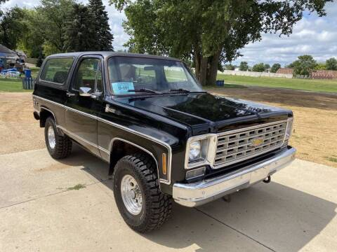 1976 Chevrolet Blazer for sale at B & B Auto Sales in Brookings SD