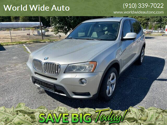 2011 BMW X3 for sale at World Wide Auto in Fayetteville NC