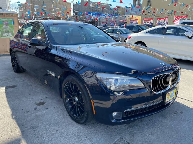 2012 BMW 7 Series for sale at Elite Automall Inc in Ridgewood NY