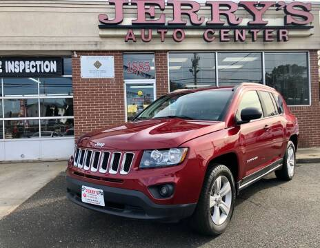 2016 Jeep Compass for sale at JERRY'S AUTO CENTER in Bellmore NY