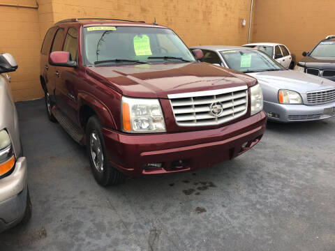 2003 Cadillac Escalade for sale at American Auto Group LLC in Saginaw MI