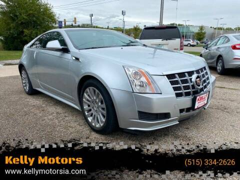 2014 Cadillac CTS for sale at Kelly Motors in Johnston IA