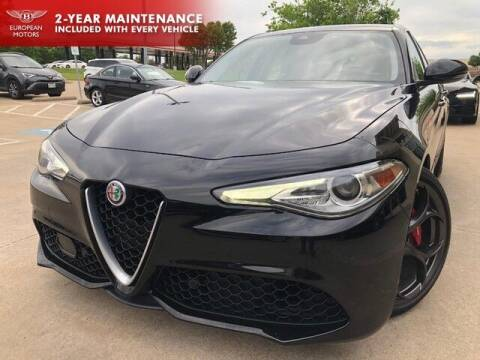 2018 Alfa Romeo Giulia for sale at European Motors Inc in Plano TX