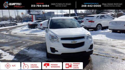 2014 Chevrolet Equinox for sale at Quattro Motors 2 in Farmington Hills MI