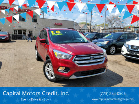 2018 Ford Escape for sale at Capital Motors Credit, Inc. in Chicago IL