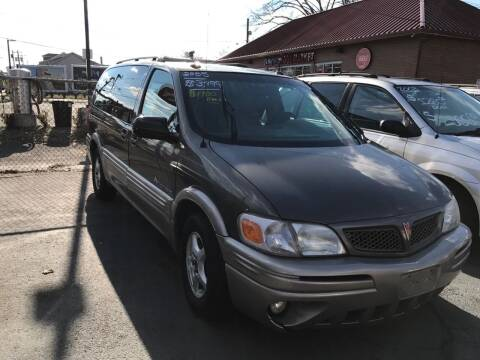 2005 Pontiac Montana for sale at Chambers Auto Sales LLC in Trenton NJ