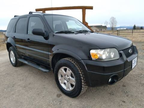 2007 Ford Escape for sale at Kevs Auto Sales in Helena MT