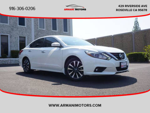 2016 Nissan Altima for sale at Armani Motors in Roseville CA