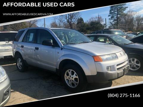 2003 Saturn Vue for sale at AFFORDABLE USED CARS in Richmond VA