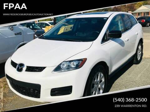 2007 Mazda CX-7 for sale at FPAA in Fredericksburg VA