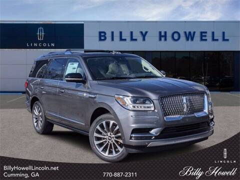 2021 Lincoln Navigator for sale at BILLY HOWELL FORD LINCOLN in Cumming GA