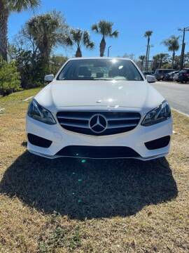 2014 Mercedes-Benz E-Class for sale at Motorcars of Melbourne in Rockledge FL
