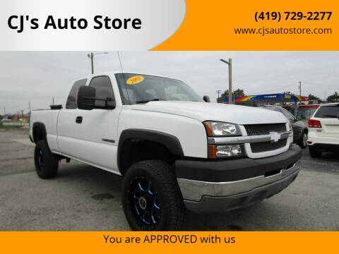 2003 Chevrolet Silverado 2500HD for sale at CJ's Auto Store in Toledo OH